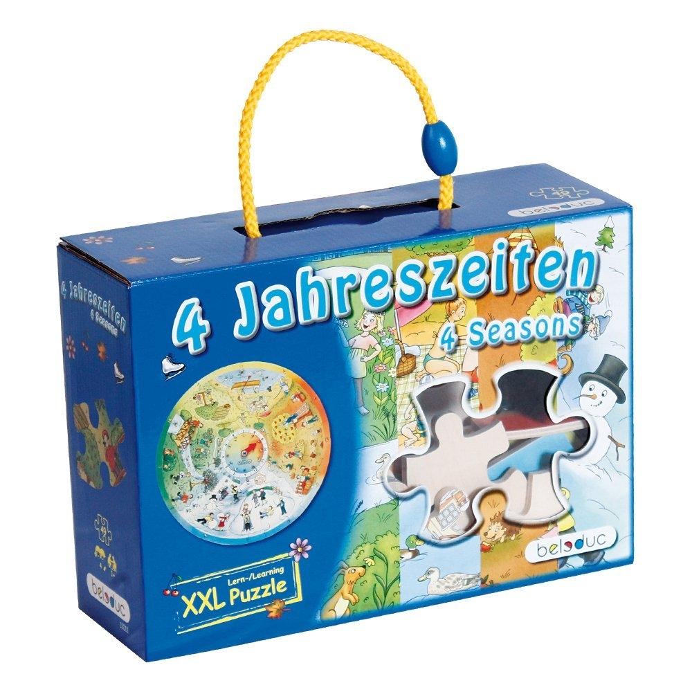 beleduc xxl legepuzzle 4 jahreszeiten  schweiz