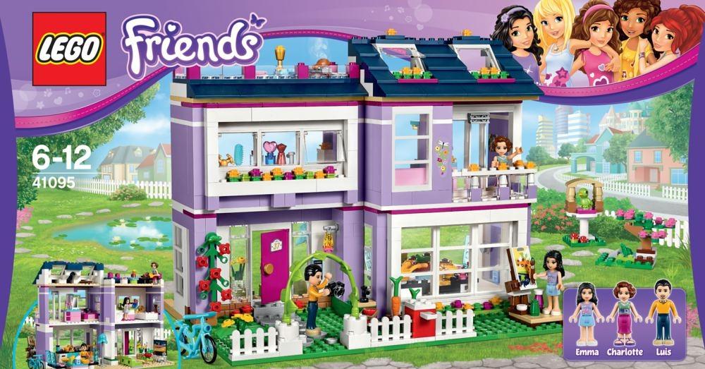 lego friends 41095 emmas familienhaus schweiz. Black Bedroom Furniture Sets. Home Design Ideas