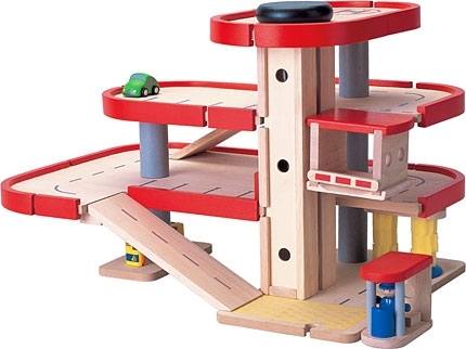 PLAN TOYS PARKING GARAGE | FREE FLOOR PLANS