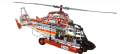 Meccano Helikopter mit Motor Evolution