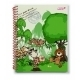 Nici Wild Friends Spiralbuch assortiert
