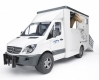 Bruder Mercedes-Benz Sprinter Tiertransporter