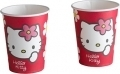 Hello Kitty Partybecher rot