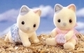 Sylvanian Families 3202 Whiskers Cat Twins